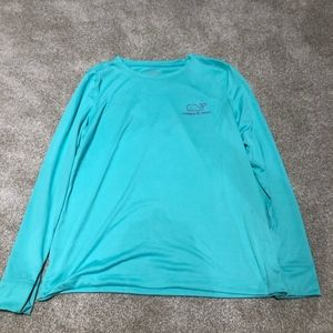 Vineyard Vines Tops - Light Blue/ Teal colored Tee Shirt